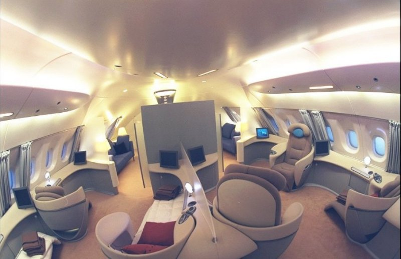 A c a m album photos airbus for Interieur airbus a380